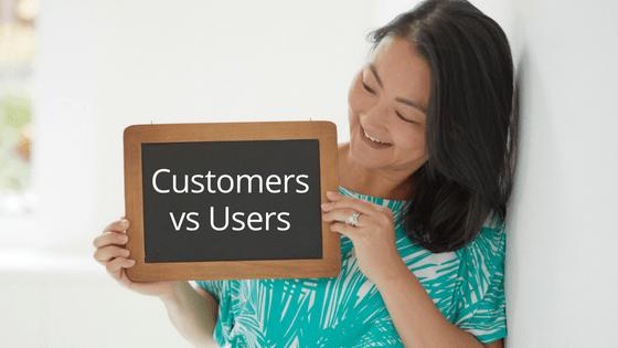 customers vs useres