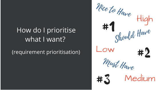 Prioritise requirements blog photo
