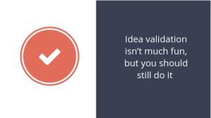 Idea validation photo