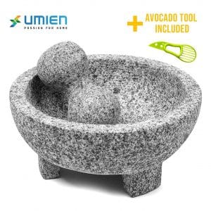 UMIEN Granite Mortar and Pestle Set