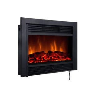 Giantex 28.5-inches Electric Fireplace Insert
