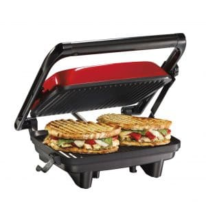 Hamilton Beach Panini Press Sandwich Maker, 25462Z