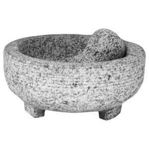 Vasconia 4-Cup Granite Mortar and Pestle