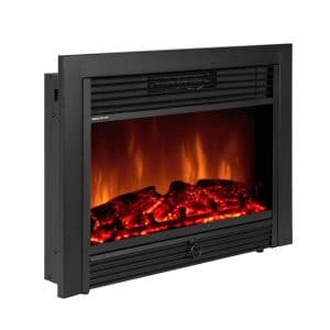 "Best Choice Products 28.5"" VD-51075WH Fireplace Electric Insert"