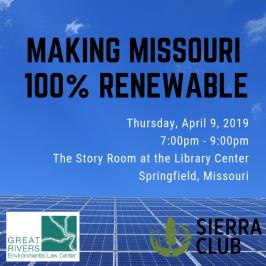 Making MO 100% Renewable 2019 square