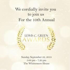 Lewis C Green Awards Square