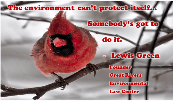 Great Rivers Environmental Law Center cardinal
