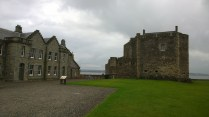 View of Blackness Castle.