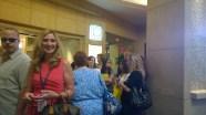 Waiting in line. Something Outlanders excel in!
