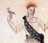 Dove in third committee's sketch (detail).