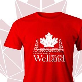150th Canada Welland Shirt