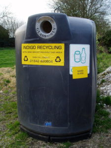 Bottle Bank in Great Snoring