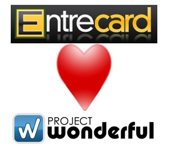 EntreCard loves Project Wonderful