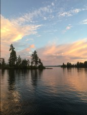 Lake Temagami is a photographers dream with picturesque sunsets and sunrises.