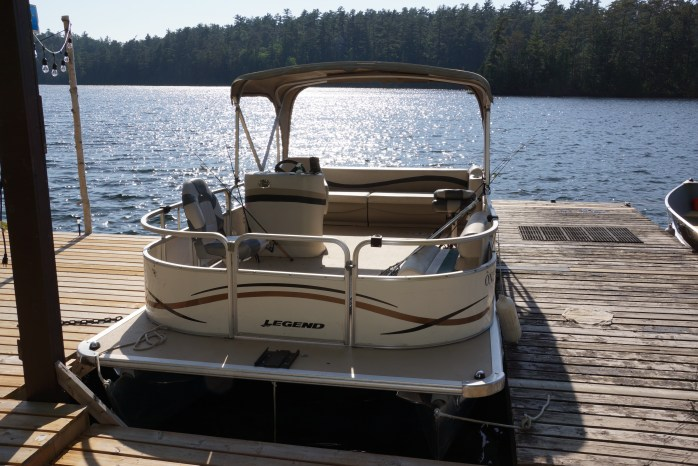 Our Pontoon Boat rentals offer a leisurely way to explore the lake.