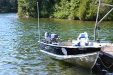 Boats are available to rent!