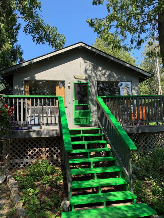 Pine Cottage exterior