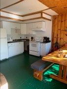 All cottages come with a full functional kitchen to cook up your catch of the day!