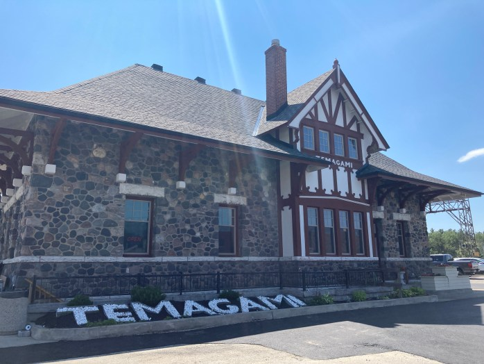Visit the town of Temagami and see the old train station