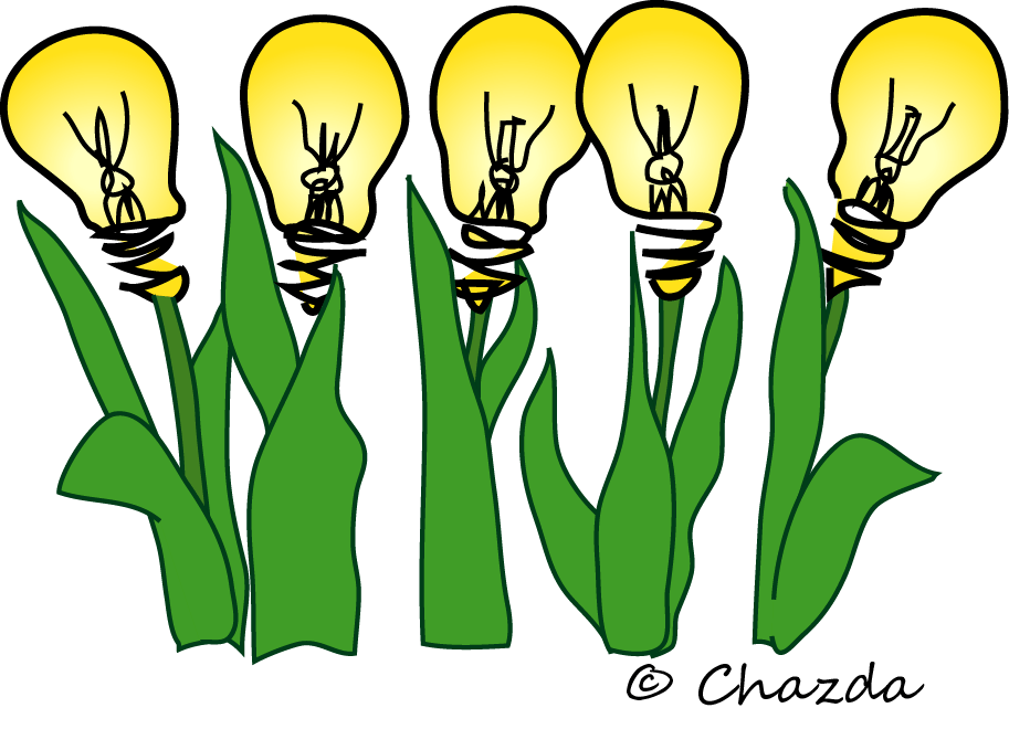 Light Bulbs, growing ideas