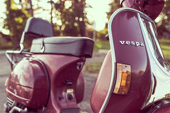 Shiny Vespas & Character Inconsistencies