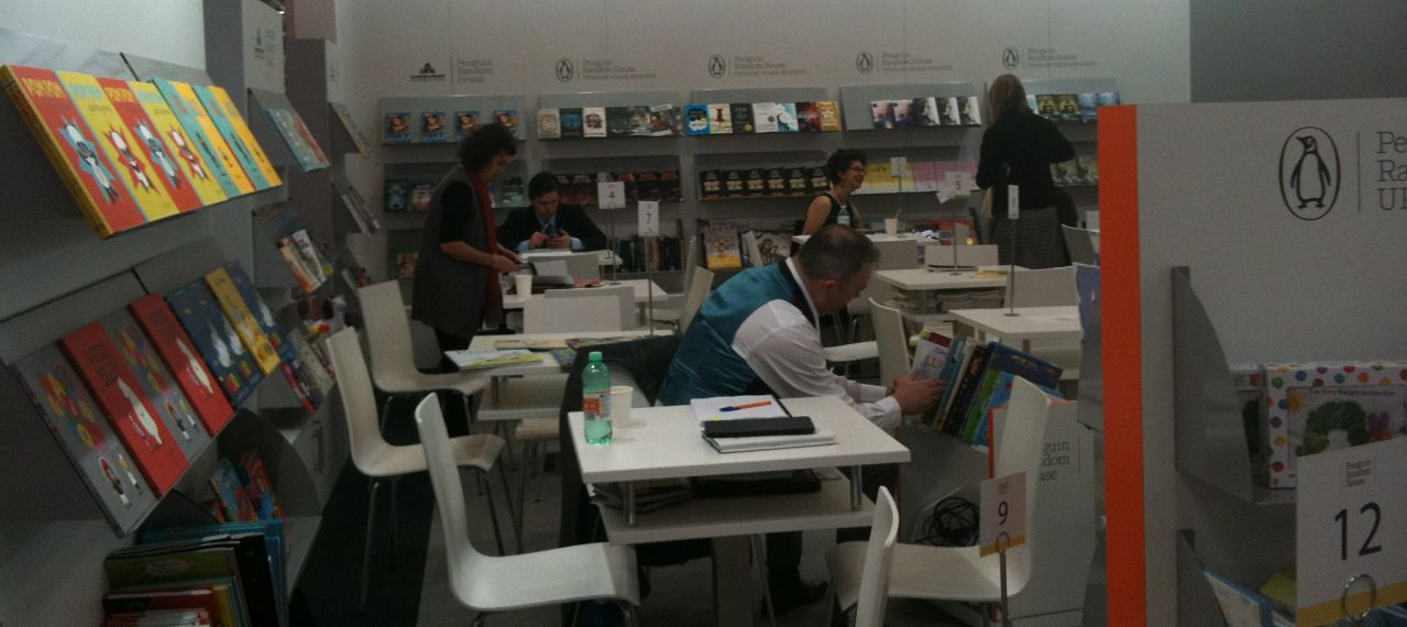 Unpublished Manuscripts at Bologna Book Fair