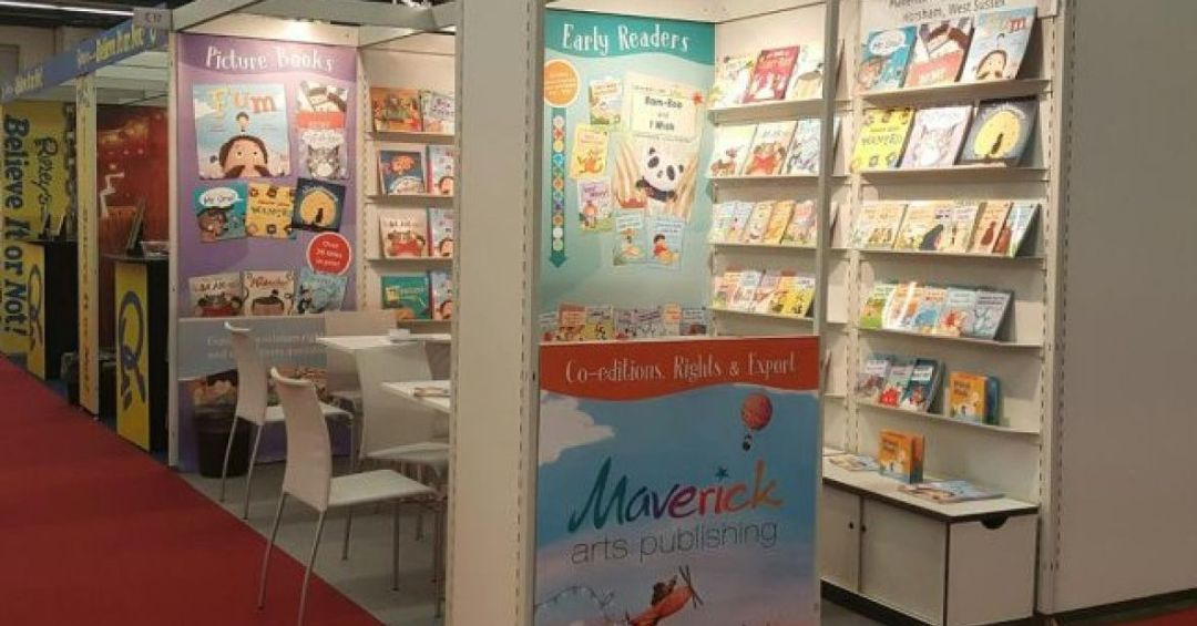 Maverick Books Booth 2016