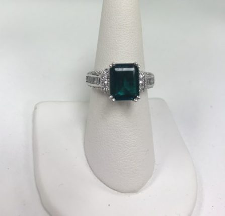 $195 Size 7 Ingrid Bergman Intermezzo Ring