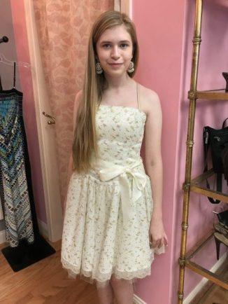 Cheryl B in her Great Stuff Homecoming dress