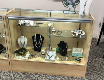"Display Case - 48"" long, 38"" high, 18"" deep - ON SALE $50"