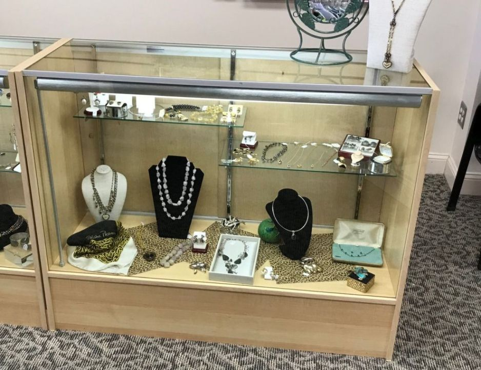Glass Display Case - NOW ON SALE $75