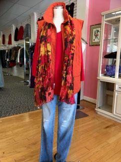 Orange CHICOS Vest $25