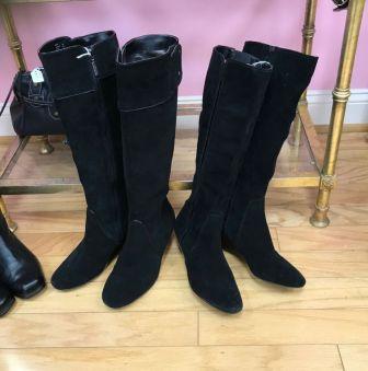 black riding boot $35
