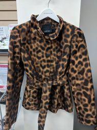 Carlisle Cheetah Jacket size 8, $69
