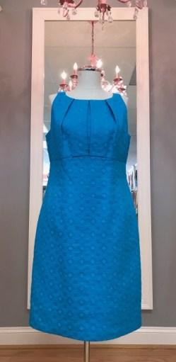 $29 Sz 10 Blue dress