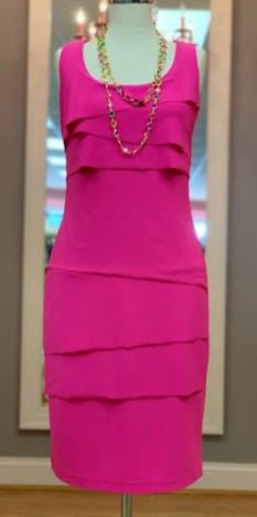 $65 size 2 Joseph Ribkoff pink dress
