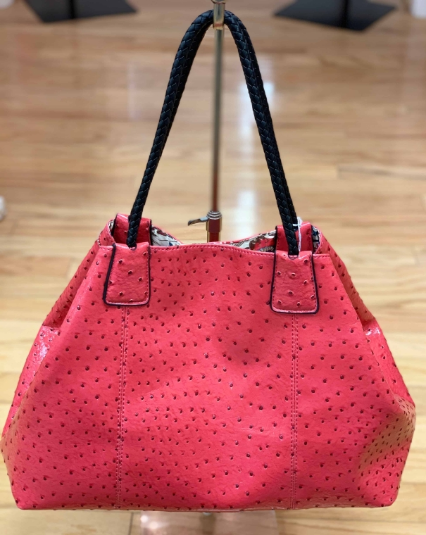 $29 Big Buddha watermelon textured bag