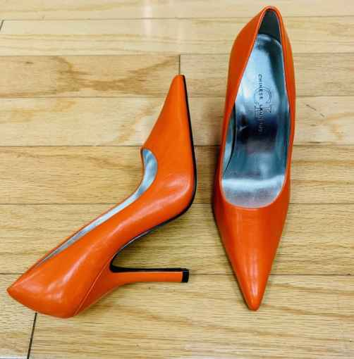 Orange Chinese Laundry stiletto Size 8 $20