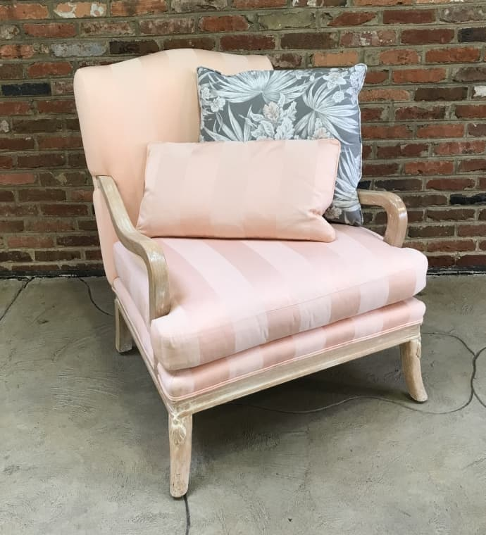 French chair $85 Accent pillow $19