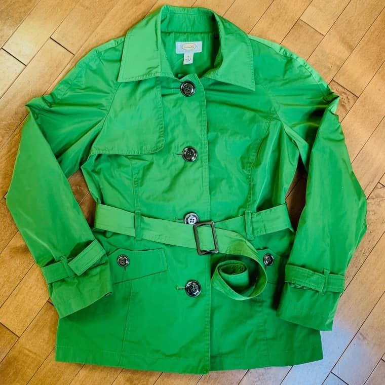 Green Talbots jacket Small $39