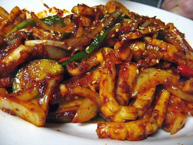 Spicy Squid Recipe