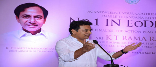 ktr meeting with senior officials on eodb