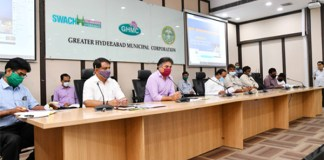 Ministers KTR and Eatala Rajender review