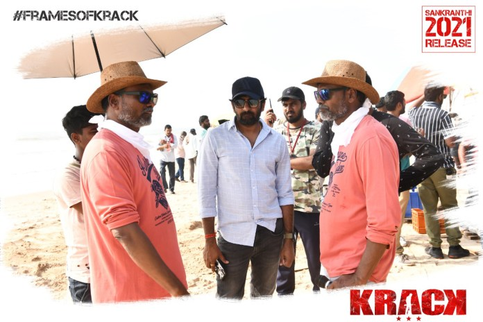 Krack Movie Working stills
