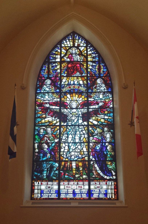 Magnificent Memorial Window