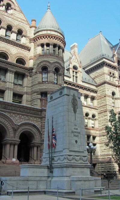 Toronto Cenotaph at Old City Hall