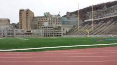 Molson Stadium at field level