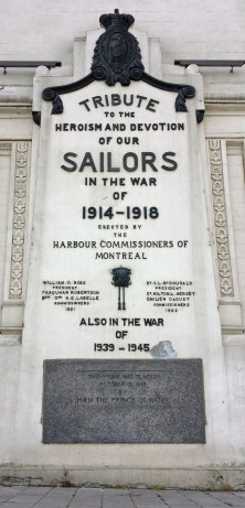 Dedication from Prince of Wales and Montreal Harbour Commission