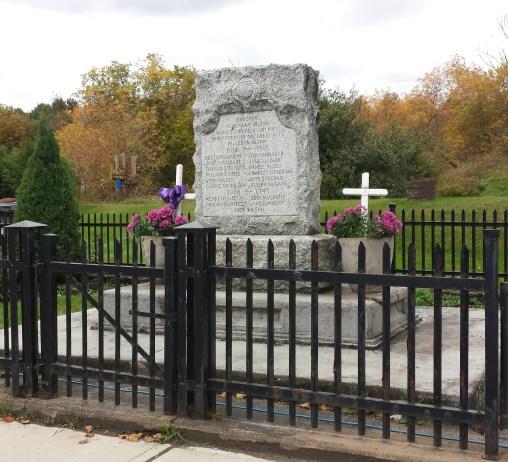 Kinmount Cenotaph