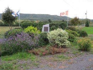 MacDonald monument, Bailey's Brook, NS